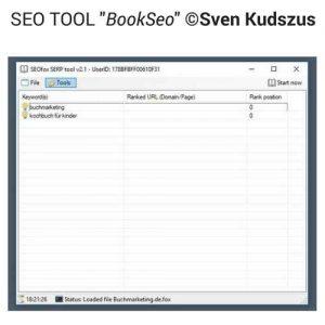BookSeo tool Sven kudszus buchvermarkten.de bild 2