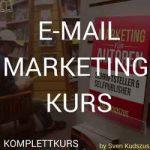 Email Marketingkurs für Autoren Schriftsteller und Selfpublisher