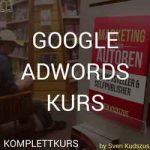 Googel Adwords Kurs für Autoren Schriftsteller und Selfpublisher